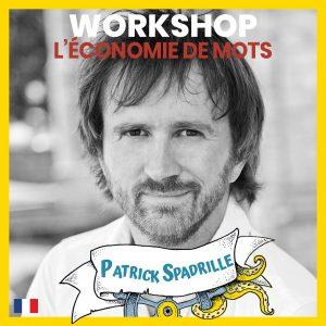stage d'impro - L'économie de mots - Patrick Spadrille