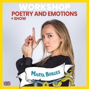 workshop impro Poetry and emotions - Marta Borges