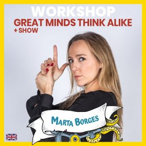 Great minds think alike - Marta Borges